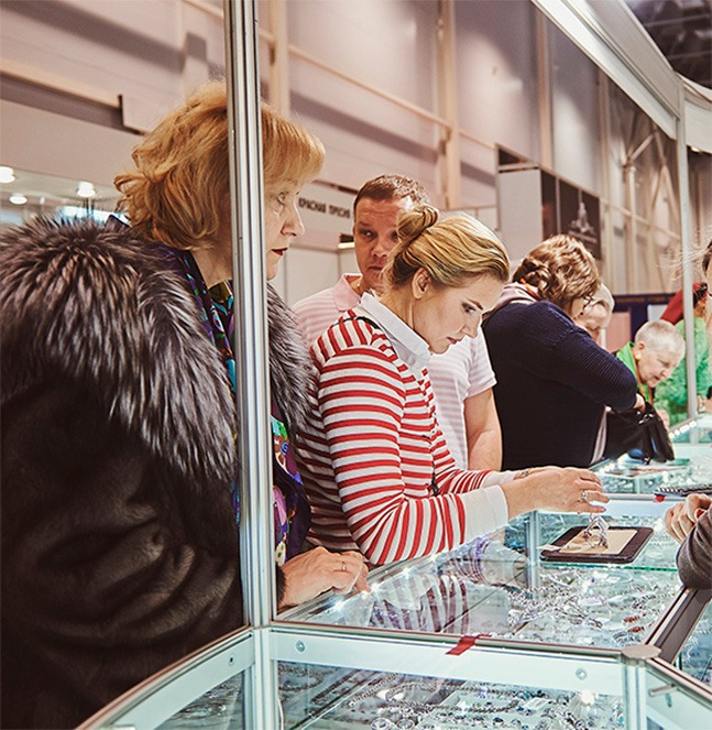 Largest Industry Exhibition and Sale of Jewellery in Siberia