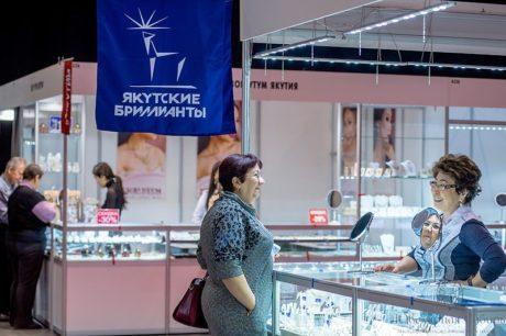Фото с выставки Ювелирная Сибирь 2019
